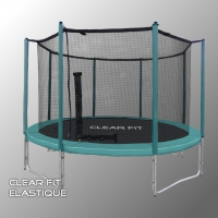 Батут Clear Fit Elastique 12ft