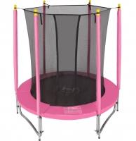 Батут с защитной сетью Hasttings Classic Pink (1,82 м)