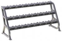 FR-813 Подставка для фиксированных гантелей на 12 пар