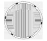 Волнообразный Хула-хуп с утяжелителями Oxygen HR-049-5L