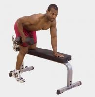 Силовой тренажер Body-Solid GFB-350 Горизонтальная скамья