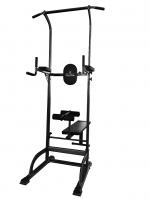 Силовой тренажер ROYAL Fitness Арт. HB-DG003 Силовая стойка со скамьей