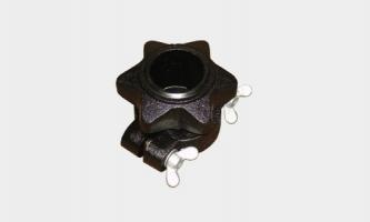 Winner Замок для олимпийского грифа OC/OCXC (black)