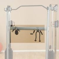 Силовой тренажер Body-Solid GDCCRACK Держатель для хранения аксессуаров (опция для кроссоверов серии GDCC)