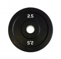 ORIGINAL FIT.TOOLS Диск бамперный 2,5 кг (черный), арт.FT-BPB-2,5