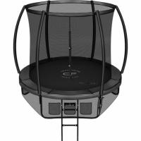 Батут с защитной сетью Clear Fit SpaceHop 8Ft