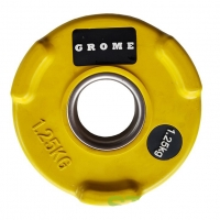 PX-Sport Диск олимпийский GROME WP074 COLOR-1.25 кг